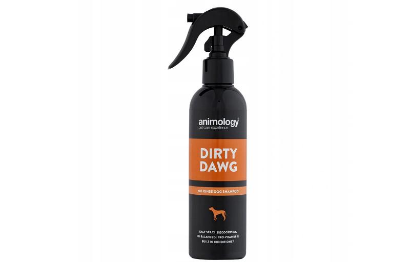 suchy szampon dla psa opinie