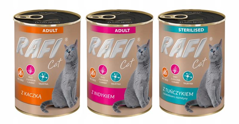 dobre mokre karmy dla kota