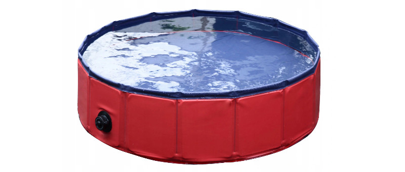 basen dla dużego psa