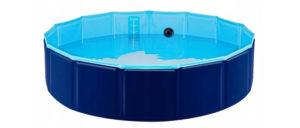 basen plastikowy dla psa
